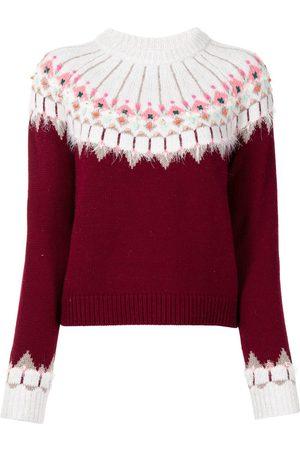 Onefifteen Klassischer Intarsien-Pullover