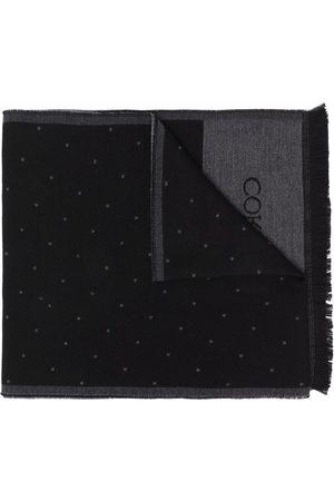 corneliani Zweifarbiger Schal mit Logo