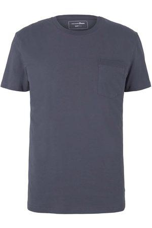 TOM TAILOR Herren T-Shirt mit Brusttasche, , Gr.XXL