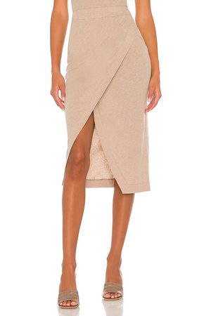 ENZA COSTA Cashmere Midi Skirt in . Size XS, S, M, XL.