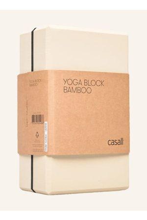 Casall Damen Sport BHs - Aus dämpfendem TPE-Schaumstoff. Leichtgewichtig. Formstabil. Materialgemisch mit Bambus und Reishülsen. Vielseitig einsetzbar zur Unterstützung für intensive Yoga-Positionen