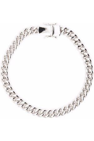 TOM WOOD Armbänder - Thick curb chain bracelet