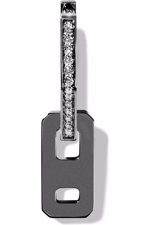 AS29 Damen Ohrringe - 18kt Weißgoldohrring mit Diamanten