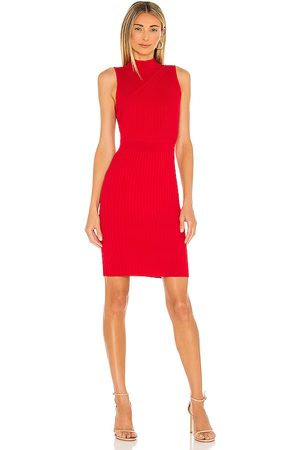 Milly Chevron Rib Fitted Dress in . Size S, XS, M.