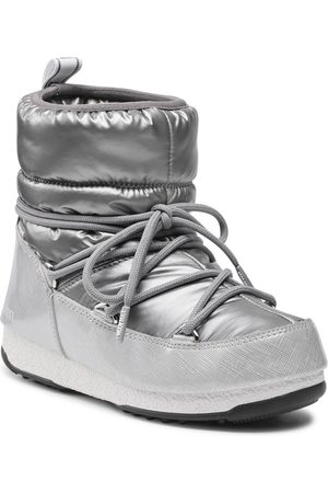 Moon Boot Low Pillow Wp 24010100002 Silver