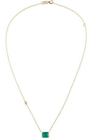 Shay Halskette aus 18kt Gelbgold mit Smaragden und Diamanten