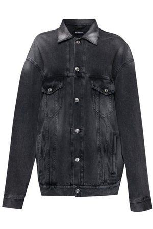 Balenciaga Damen Jeansjacken - Oversized Denim Jacket