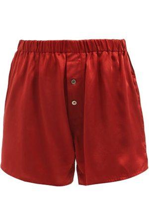 Araks Eduardo Silk-satin Pyjama Shorts