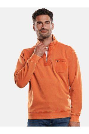 ENGBERS Herren Sweatshirts - Herren Sweatshirt Stehbund regular uni Stehkragen
