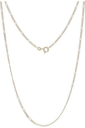 """XEN Damen Halsketten - Figarokette """"1,90 Mm Aus 585 Gelbgold"""" in , Schmuck für Damen"""