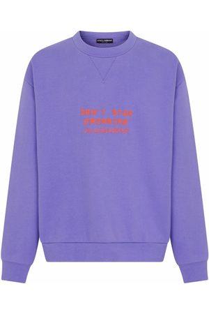 Dolce & Gabbana Herren Sweatshirts - Sweatshirt mit Prägung