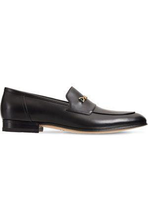 Gucci Herren Halbschuhe - Loafers Aus Leder Mit Trensendetail