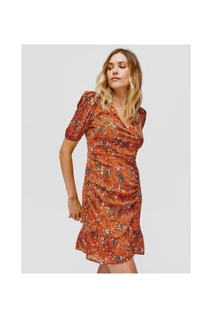 Promod Damen Freizeitkleider - Kleid mit Muster DIMB