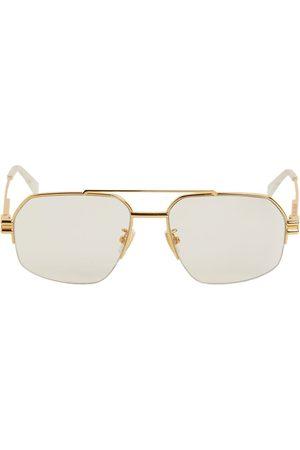 Bottega Veneta Damen Sonnenbrillen - Pilotensonnenbrille Aus Metall