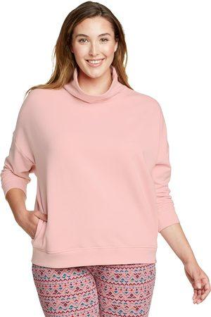 Eddie Bauer Damen Sweatshirts - Cozy Camp Sweatshirt mit Rollkragen Damen Gr. XS