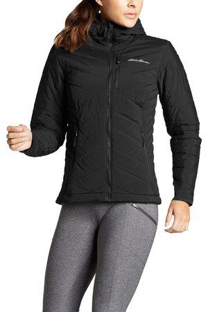 Eddie Bauer Damen Outdoorjacken - Ignitelite Stretch Reversible Jacke mit Kapuze Damen Gr. XS