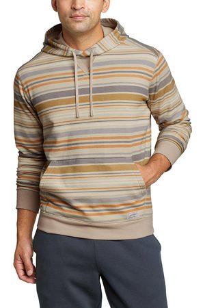 Eddie Bauer Herren Sweatshirts - Camp Fleece Sweatshirt mit Kapuze - bedruckt Herren Gr. S