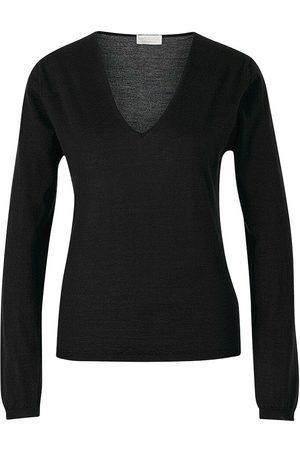 Santa Eulalia Silk And Cashmere Sweater , Damen, Größe: 46 IT