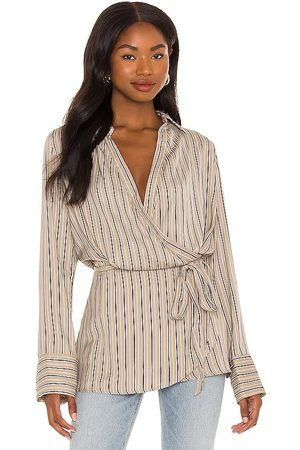 Free People Arlo Wrap Top in . Size XS, S, M.