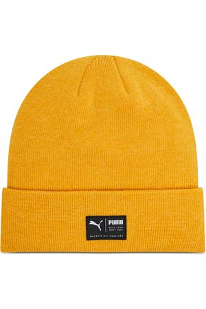 PUMA Archive Heather Beanie 021739 15 Mineral Yellow