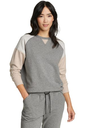 Eddie Bauer Damen Sweatshirts - Cozy Camp Color Block Sweatshirt Damen Gr. XS