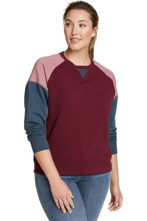 Eddie Bauer Cozy Camp Color Block Sweatshirt Damen Gr. XS