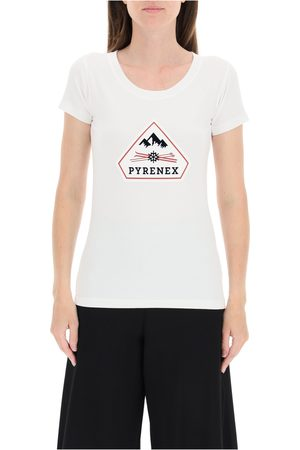 PYRENEX Estela t-shirt with logo , Damen, Größe: 42 IT