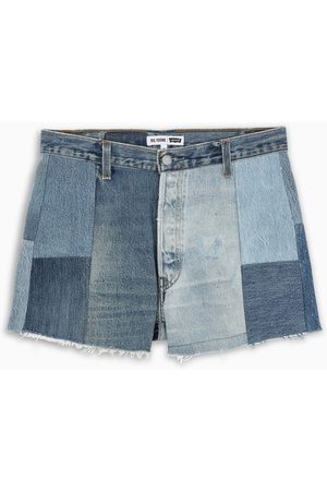 RE/DONE Damen Shorts - 70 patchwork shorts