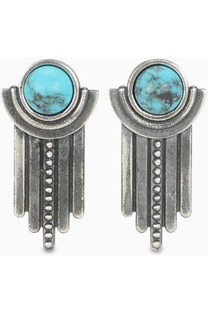 NOVE25 Turquoise Sun and Rain earrings