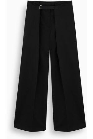 Jil Sander Black wide-leg trousers
