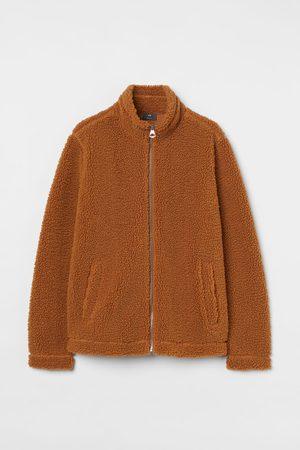 H&M Herren Jacken - Jacke aus Lammfellimitat Regular Fit