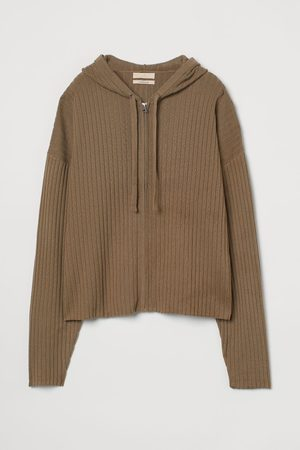 H&M Damen Sweatshirts - Hoodiejacke aus Kaschmirmix