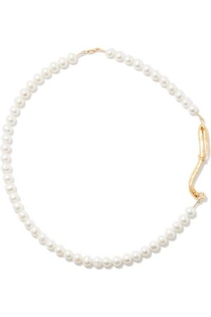 Alighieri The Nostalgia Pearl & 24kt -plated Necklace