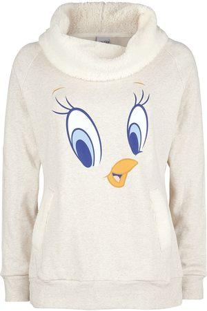 LOONEY TUNES Damen Sweatshirts - Tweety Sweatshirt meliert