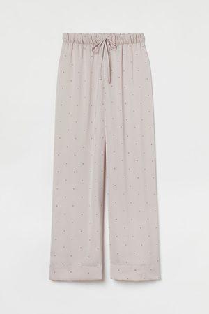 H&M Pyjamahose aus Satin