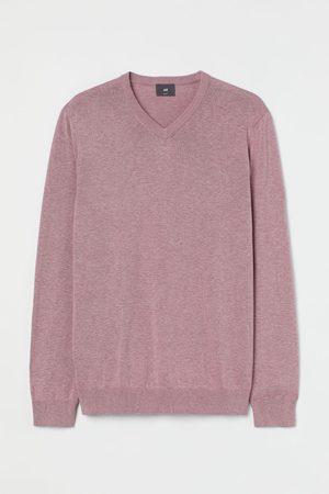 H&M V-Pullover aus Baumwolle