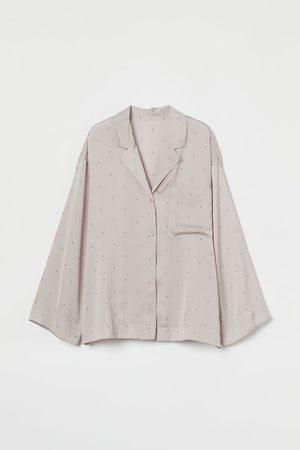 H&M Pyjama-Oberteil aus Satin
