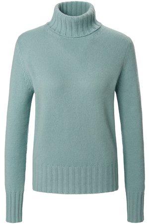 Peter Hahn Damen Rollkragenpullover - Pullover aus 100% Premium-Kaschmir türkis