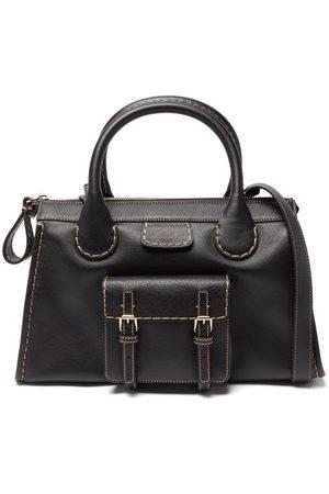 Chloé Damen Geldbörsen & Etuis - Edith Medium Topstitched Leather Shoulder Bag