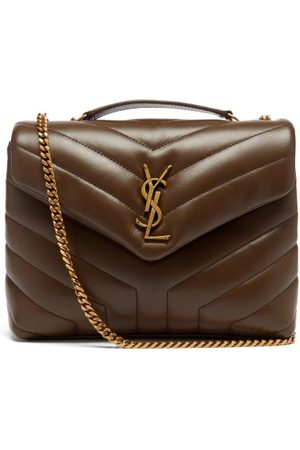 Saint Laurent Damen Geldbörsen & Etuis - Loulou Small Quilted Leather Shoulder Bag