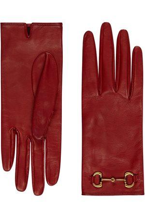 Gucci Handschuhe mit Horsebit