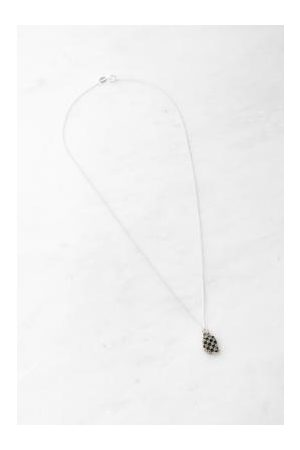 Rat Betty Chequered Head Necklace