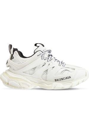 Balenciaga Damen Sneakers - 30mm Hohe Sneakers Aus Nylon Und Mesh