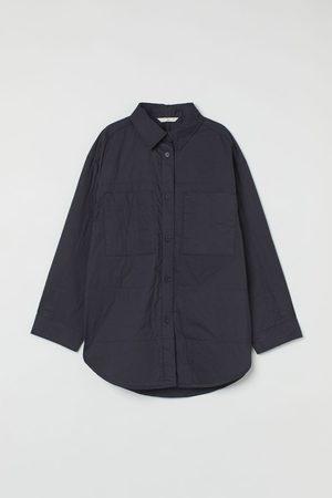 H&M Gefütterte Hemdjacke