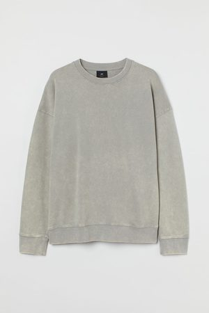 H&M Sweatshirt im Washed-Look Relaxed Fit