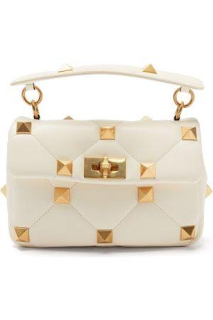 VALENTINO GARAVANI Damen Geldbörsen & Etuis - Roman Stud Medium Leather Shoulder Bag