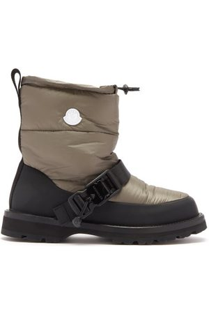 4 Moncler Hyke Damen Winterstiefel - Padded Nylon And Rubber Snow Boots