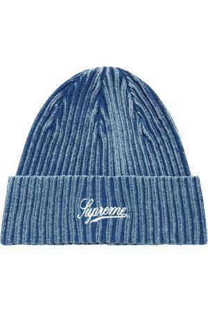 Supreme Hüte - Gerippte Mütze mit Bleached-Effekt