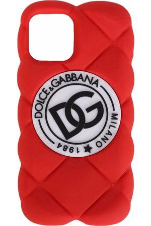 Dolce & Gabbana Herren Handy - Gesteppte Handyhülle