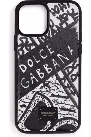 Dolce & Gabbana Handyhülle mit Logo-Print
